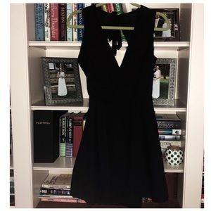 Tobi open back dress